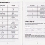 MW2 Game Controls